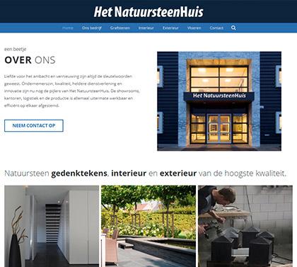 website huis