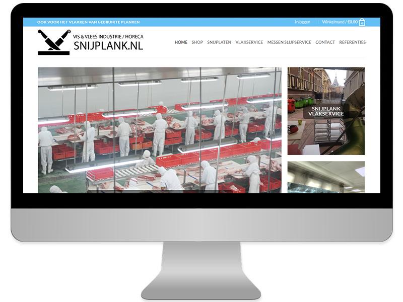 website wordpress snijplank