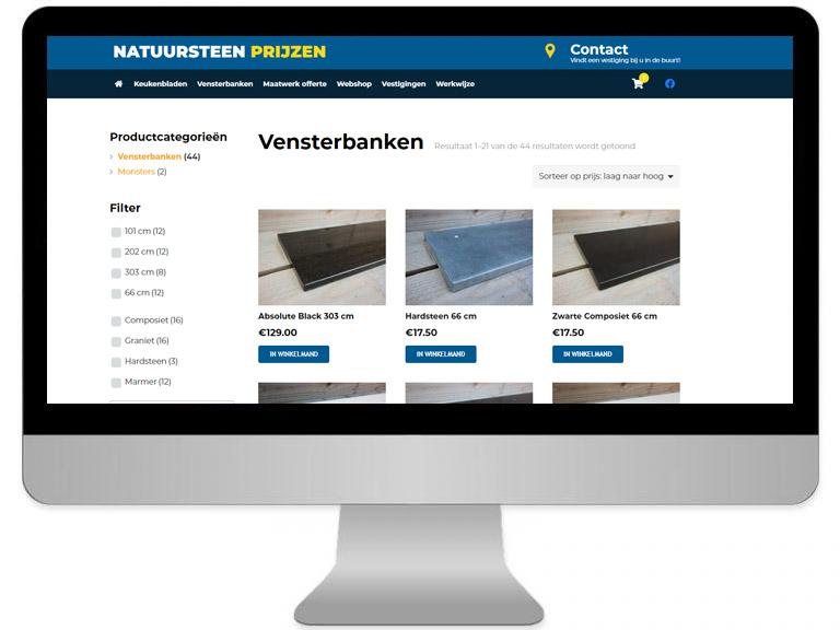 webdesign nat prijzen